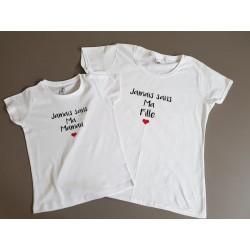 T-shirt Duo Fête des mères