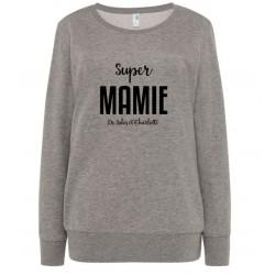 Sweat personnalisé Super Mamie